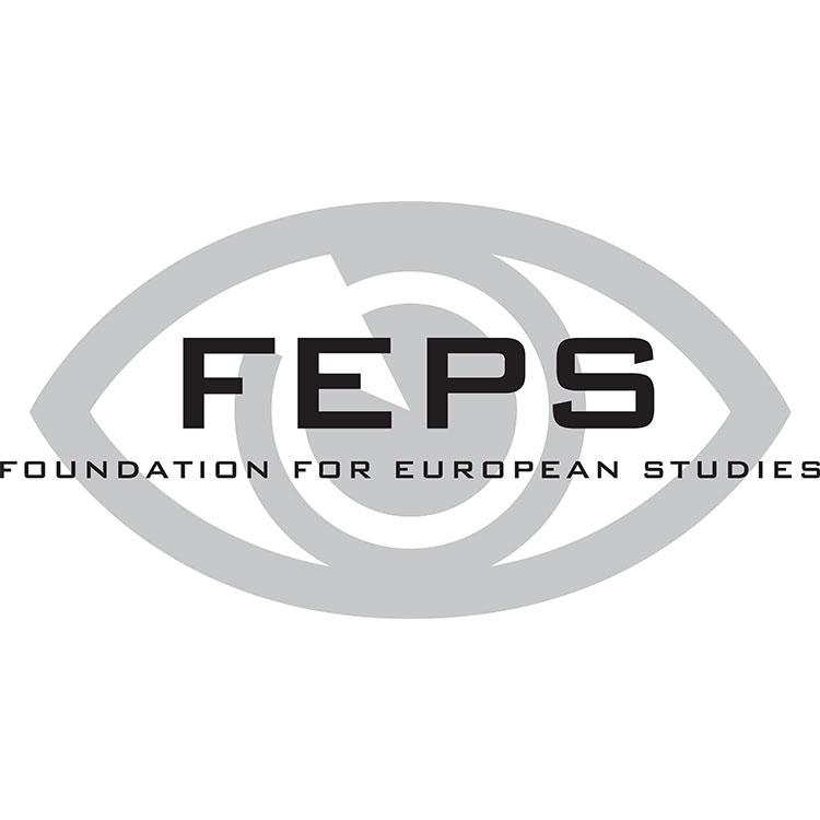 logo Fundacji na Rzecz Studiów Europejskich (Foundation for European Studies – w skrócie FEPS)